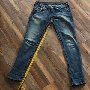True Religion Straight Leg Jean